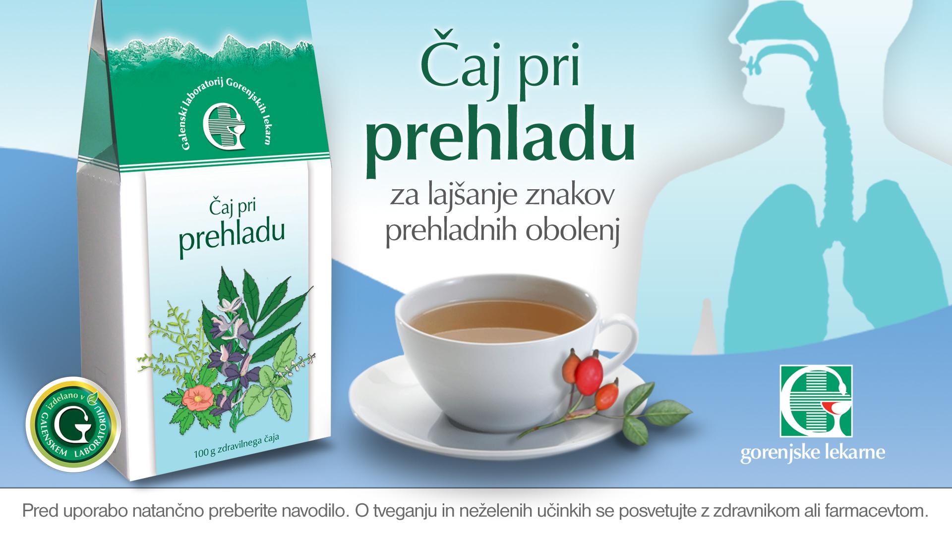 Čaj pri prehladu