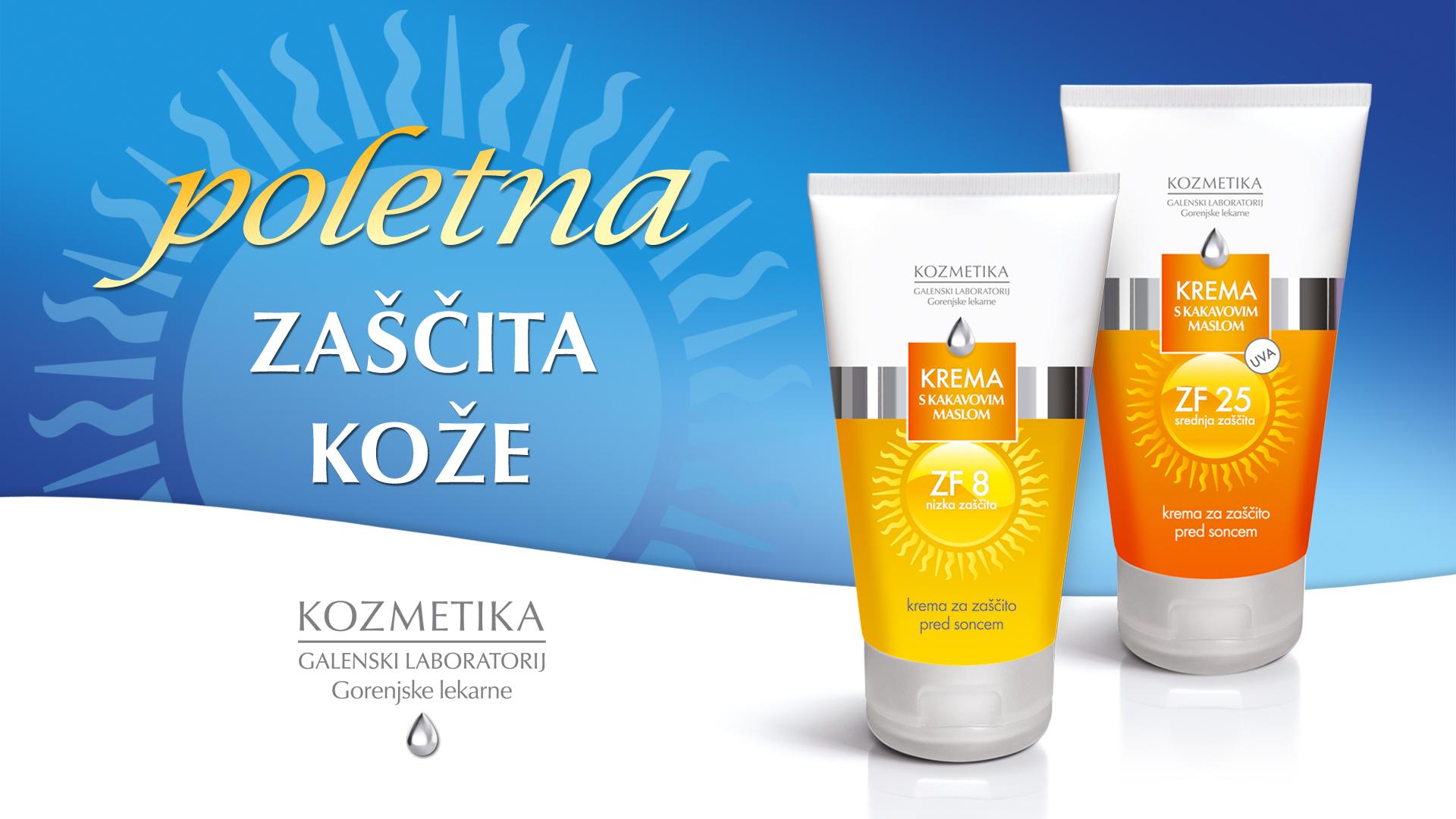 poletna zaščita kože